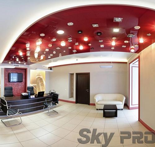 светильники в офисе SkyPRO в Шимске
